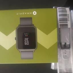 Amazfit bip GPS novo lacrado com pulseira extra