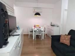 Apartamento com 2 dormitórios para alugar, 80 m² por R$ 3.100/mês - Gonzaga - Santos/SP