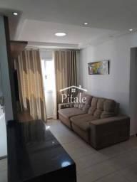 Apartamento com 2 dormitórios à venda, 55 m² por R$ 296.000 - Vila Nova - Barueri/SP