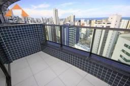 Apartamento com 3 quartos à venda, 97 m² por R$ 740.000,00 - Boa Viagem - Recife