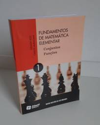 Livro Fundamentos da Matemática Elementar 1 - Conjuntos e Funções