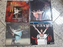 Laser Disc de Ballet de repertório
