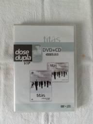 Edição Especial Dvd + Cd - Titãs Ao Vivo