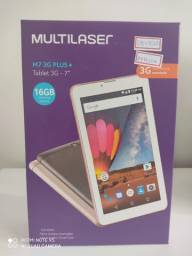 "Tablet Multilaser M7 Plus, 7"", Quad-Core, 16GB, Wi-Fi e 3G, NB305 - Rosa"