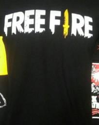 Camisetas Free Fire