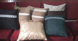 Almofadas decorativas para sofás