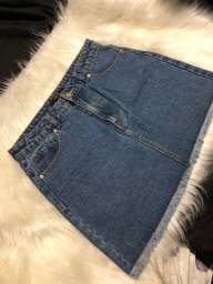 Saia jeans forever 21