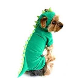 Roupinha para cachorro modelo dinossauro