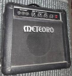 Contrabaixo SX p/ CANHOTO - Custom Handmade - Vintage Series + Amplificador Meteoro MB-15