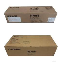 Lote com 4 Toner e Waste Samsung 706 Original Novo