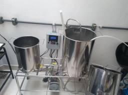 Panela Cervejeira Inox 60 litros finais (Abaixei pra vender)