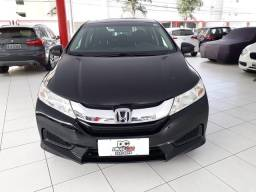Honda city sedan lx 1.5 flex aut. preto 2016
