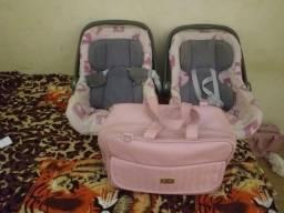 Bebê conforto e bolsa semi novos