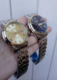 Promoção Relógio Belushi Original Aço Inoxidável Pronta Entrega
