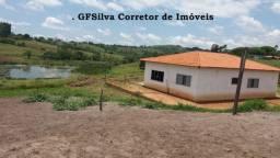 Chácara 20.000 m2 com Lago Casa ampla excelente localização Ref. 428 Silva Corretor
