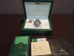 Rolex submarine verde