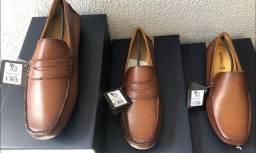 Sapatênis, Sapato Social, Carteira, Tudo em Couro!