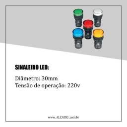 Sinaleiro led 220v para máquinas
