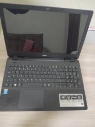 Notebook Aspire E 15 4 GB RAM 320GB HD