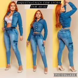 Conjunto Feminino Jeans