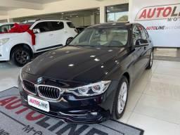 Título do anúncio: BMW 320i Turbo 2016 Teto solar + Interna caramelo