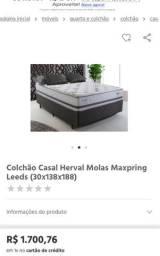 Título do anúncio: Colchao LEEDS Herval - Molas Maxpring
