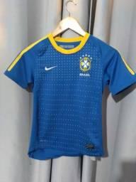 Baby Look P Brasil Nike Original