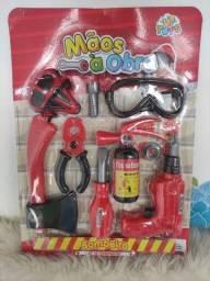 Kit ferramentas para criança