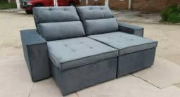 Sofa pérola 2,10m novo Entrega Gratis