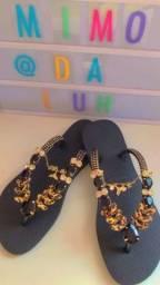 Sandálias de luxo