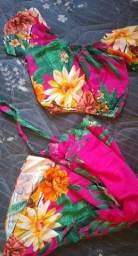Vendo lindo conjunto tecido