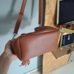 Título do anúncio: Bolsa saco marrom nunca usada