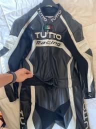 Macacão Motociclista Tutto Racing Tm 54 2peças