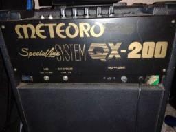 Título do anúncio: Troco Cubo Meteoro Special Line Professional QX 200 Guitarra por cubo para teclado