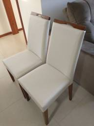 Título do anúncio: 2 Cadeiras novas! Tecido facto, lavável!