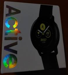 Galaxy Watch Active Lacrado Com NF e Garantia!