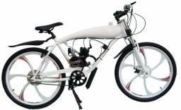 Bicicleta motorizada 80cc 2 tempos USADA