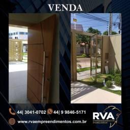 VENDA | Casa, com 2 quartos em Jd. Leblon, Maringá