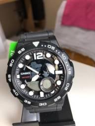 Relógio Casio Aeq 100w Comprado nos E.U.A