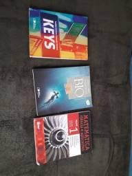 Livros KEYS, BIO saraiva sônia lopes e Matemática ATUAL