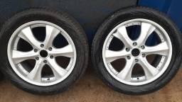 Rodas  de caminhonete aro 20 com pneus