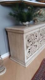 Mesa lateral madeira maciça