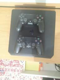 Título do anúncio: Playstation 4 slim 500 mb