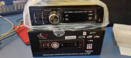 Título do anúncio: Rádio para carro novo na caixa