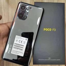Título do anúncio: Xiaomi Poco F3 Novo Original Parcele Em Até 12x Vezes Modelos Disponíveis  256Gb e 128Gb