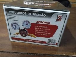 Título do anúncio: Regulador de pressão Argônio V8 Brasil