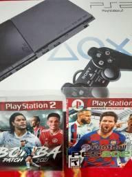 Título do anúncio: Playstation 2 desb.na caixa c nota $399