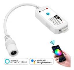 Controlador Wifi P/ Fita Led Rgb / Google Home E Alexa