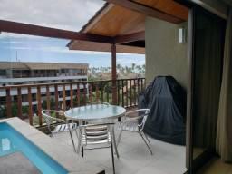 Título do anúncio: ALR- Apt duplex frente piscina Malawí Beach Resort em Muro Alto - Mobiliado