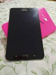 Tablet Samsung A2016 SM-T285-M Preto 4G Tela 7.0 Memória 8GB Dual Câmera